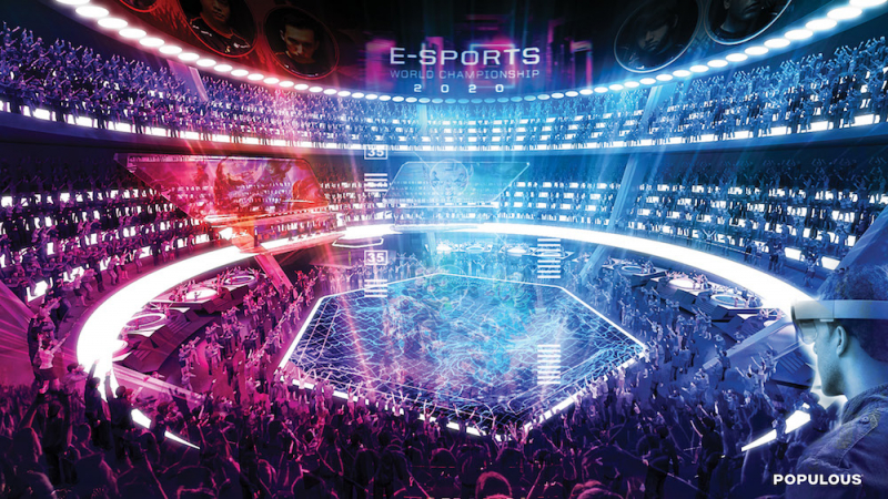 Big game hunting: the rise of the purpose-built eSports arena