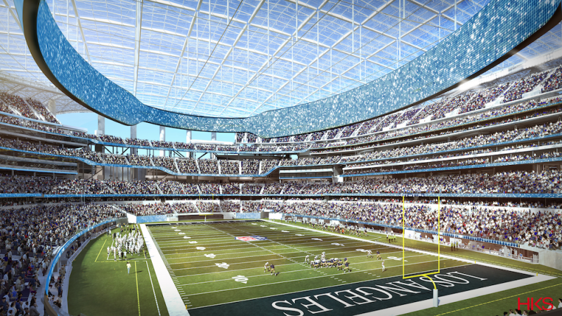 HKS Architects' Mark Williams on North America's most expensive sports facility