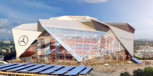 Mercedes-Benz Stadium raises the bar for sustainability standards